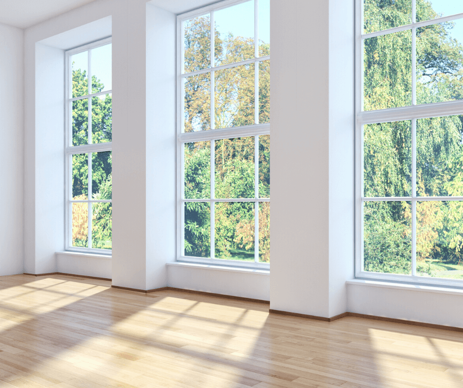 Interior Side of Replacement Windows | Derby City Exteriors